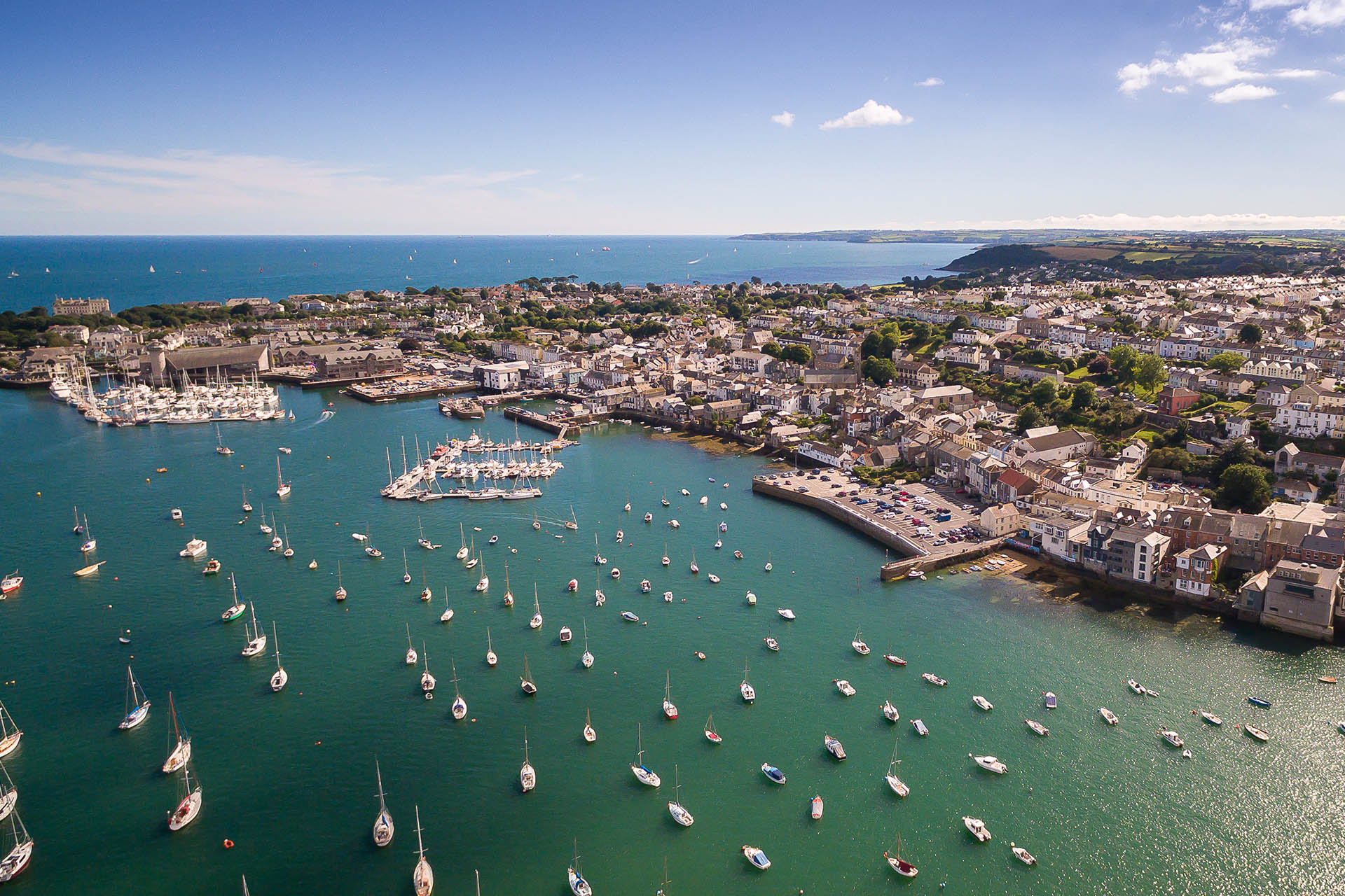 Falmouth-Haven-Areial-Moorings