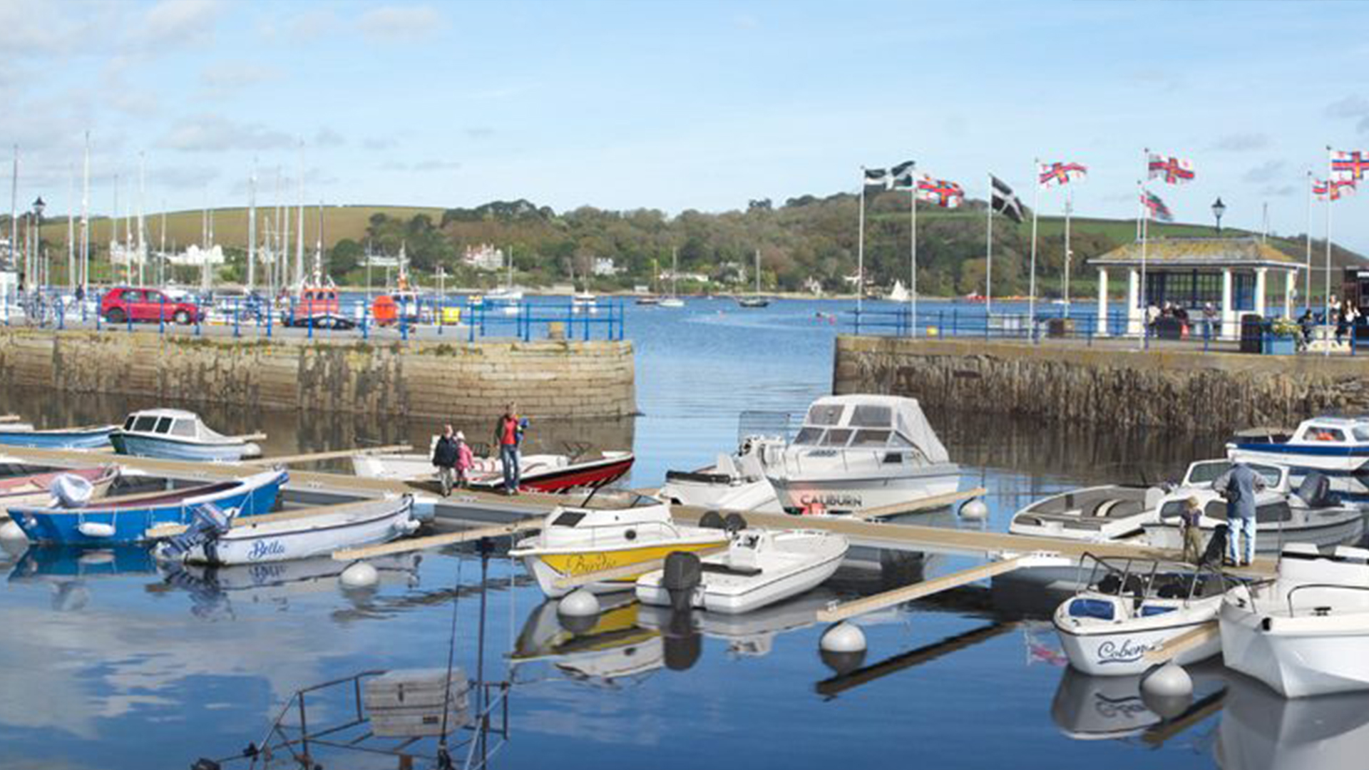 Falmouth-Haven-Custom-House-Quay-Pontoon